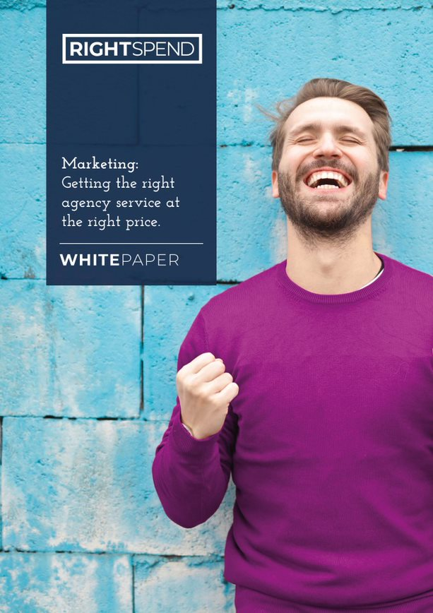 RightSpend Whitepaper Cover: Marketing getting the right agency service at the right price