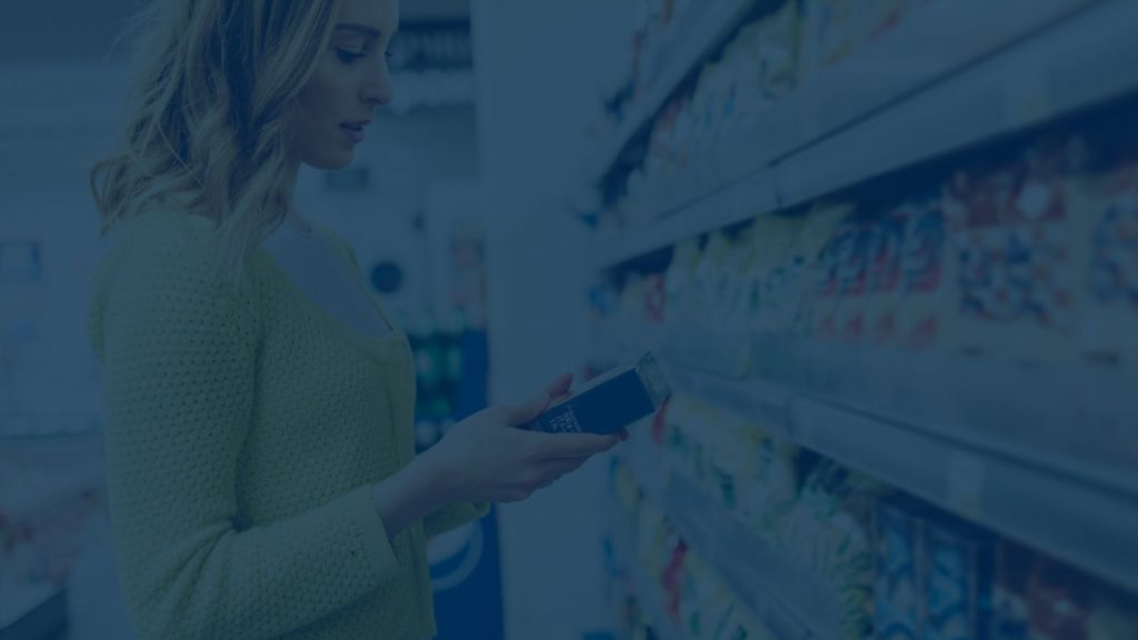 RightSpend Case Study Consumer Goods: Woman shopping