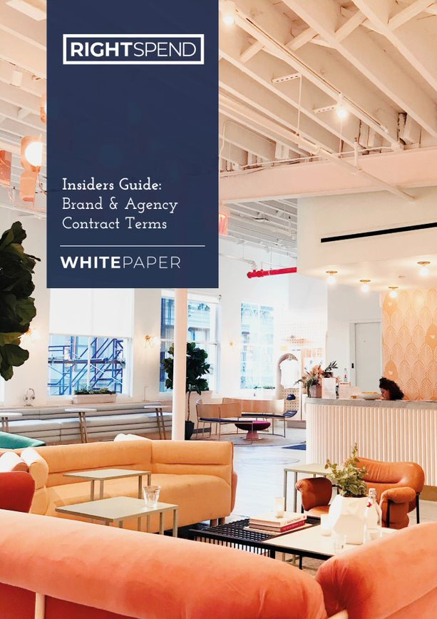 RightSpend Whitepaper Cover: Insiders Guide to Brand & Agency Contract Terms
