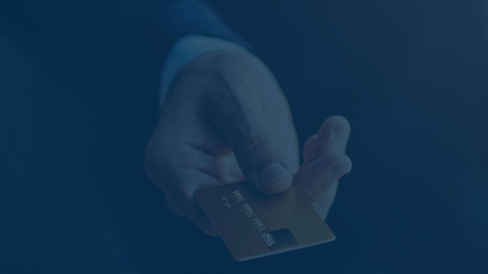 RightSpend Case Study Finance: Man with credit card
